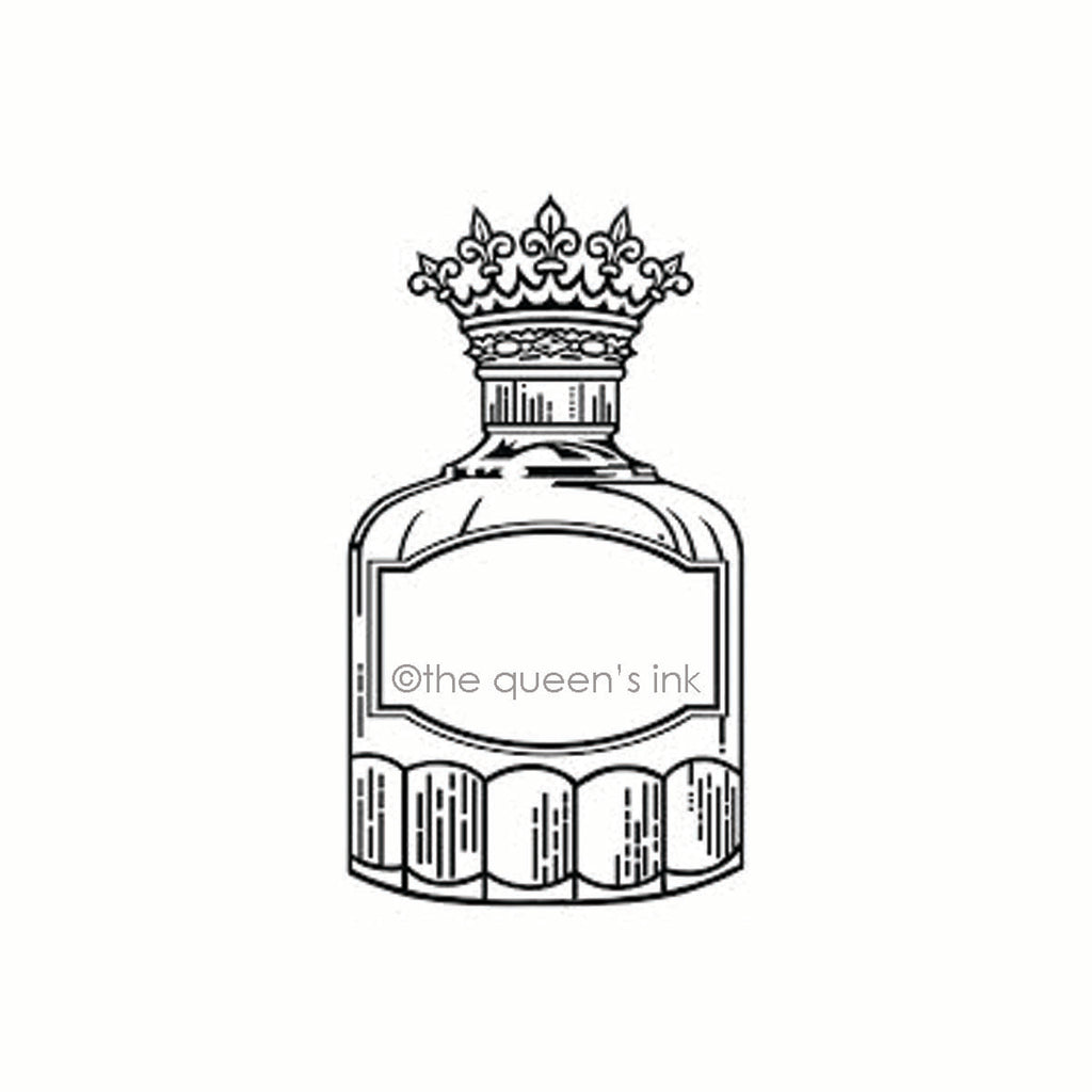 Her Majesty - Inkwell (Large) | Rubber Art Stamp