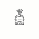 Her Majesty - Inkwell (small) | Rubber Art Stamp