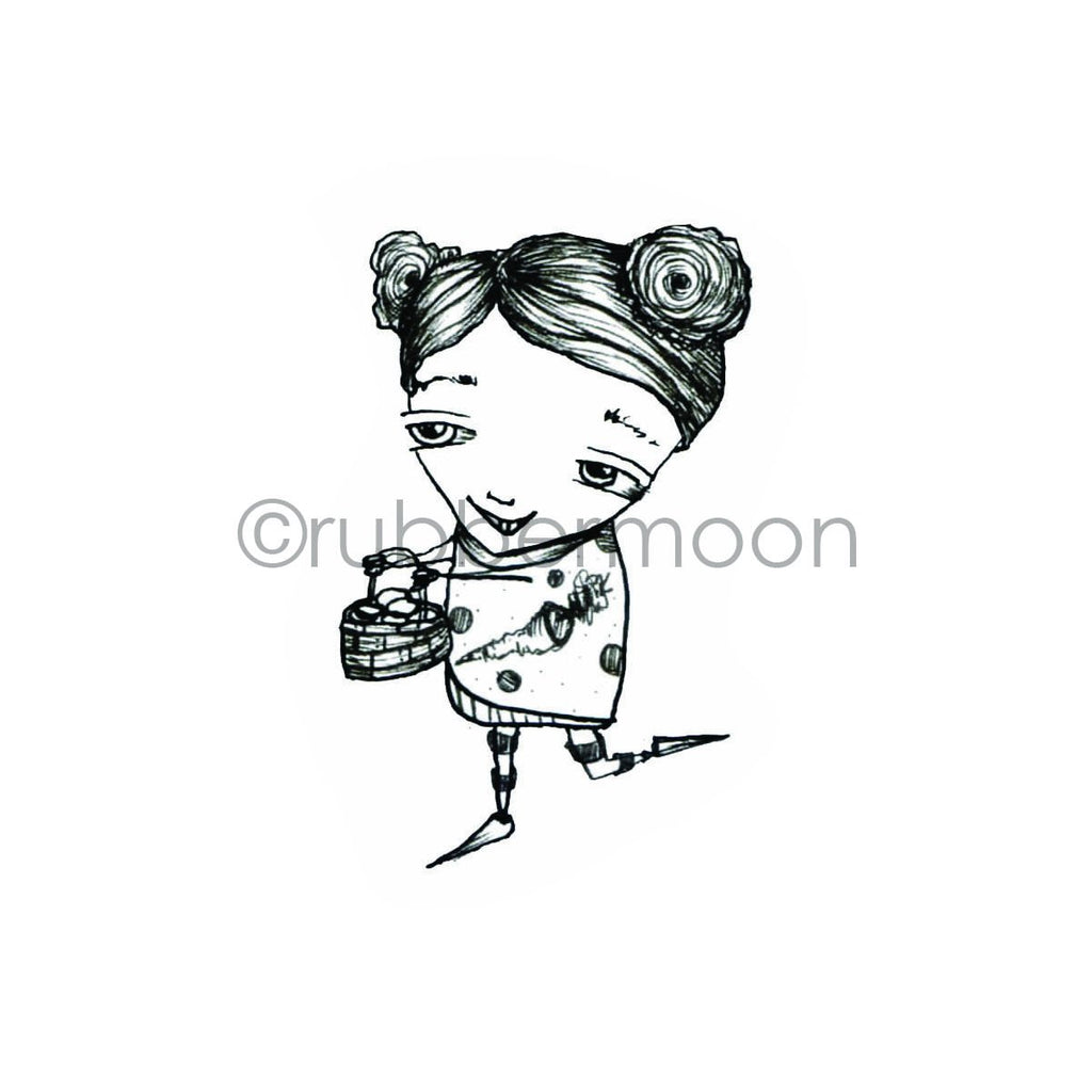 Sunny Carvalho | SC7223G - One Basket - Rubber Art Stamp