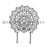 Sandra Evertson | Fiesta Crown - SE6008G - Rubber Art Stamp