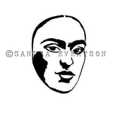 Sandra Evertson | Destiny - SE6011E - Rubber Art Stamp
