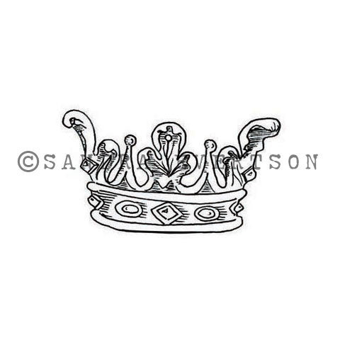 Sandra Evertson | Coronam - SE6025D - Rubber Art Stamp
