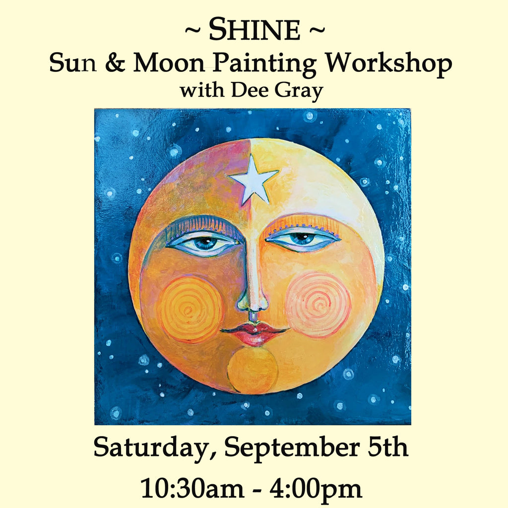SHINE: Sun and Moon Painting Workshop