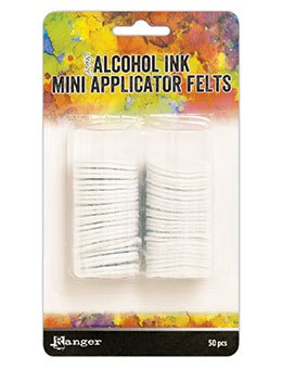 Ranger | Replacement Felts for Alcohol Ink Mini Applicator Tool | Tim Holtz