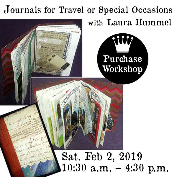 Workshop | Journals for Travel or Special Occasions with Laura Hummel