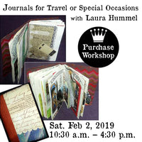 Workshop | Journals for Travel or Special Occasions