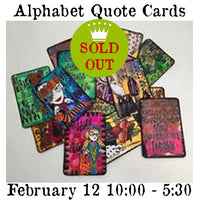 Workshop | Alphabet Quote Cards w/Dyan Reaveley