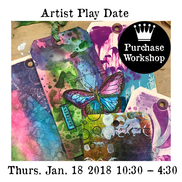 Workshop | Artist Play Date (NEW!)