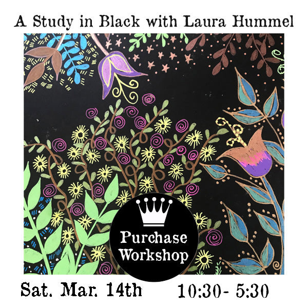 Workshop | A Study in Black with Laura Hummel