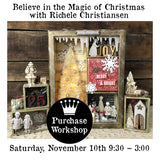 Workshop | Believe in the Magic of Christmas with Richele Christensen