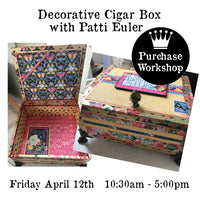 Workshop | Decorative Cigar Box