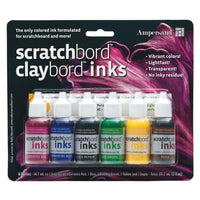 Clayboard Inks - Set of 6
