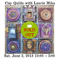 Workshop |  Clay Quilts with Laurie Mika