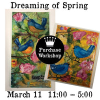 Workshop | Dreaming of Spring with Laura Hummel