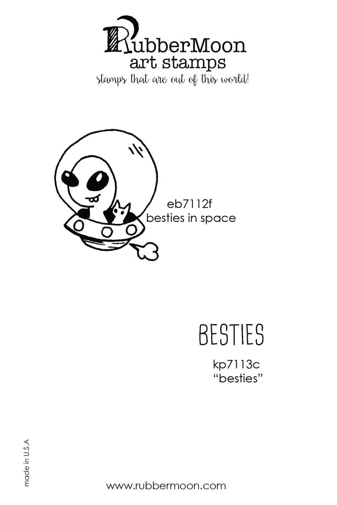 Emi Boz | EBBF02 | Best Friends Stamp Set