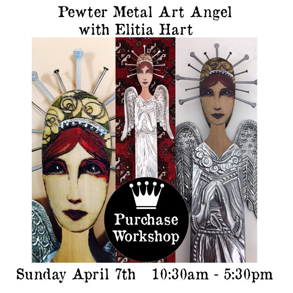 Workshop |  Pewter Metal Art Angel with Elitia Hart