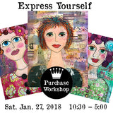 Workshop | Express Yourself with Laura Hummel