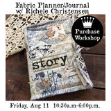 Workshop | Fabric Planner/Journal with Richele Christensen
