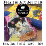 Workshop | Fearless Art Journal with Laura Hummel