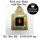 Workshop | Find your Niche with Kae Pea