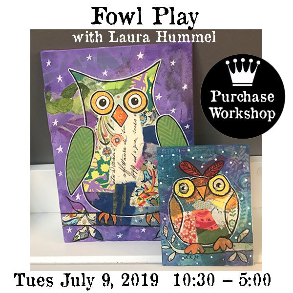 Workshop | Fowl Play with Laura Hummel