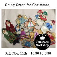 Workshop | Going Green for Christmas with Laura Hummel