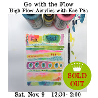Workshop | Go with the Flow! with Kae Pea