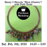 "Workshop |  Honey I shrunk ""More Flowers""! with Patti Euler"