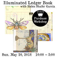 Workshop |  Illuminated Ledger Book with Helen Shafer Garcia