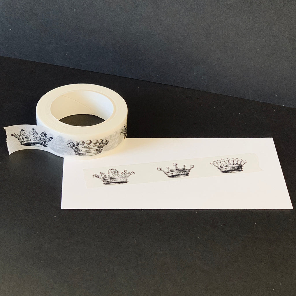 "The Queen's Very Own Washi Tape | ""Crowns"""