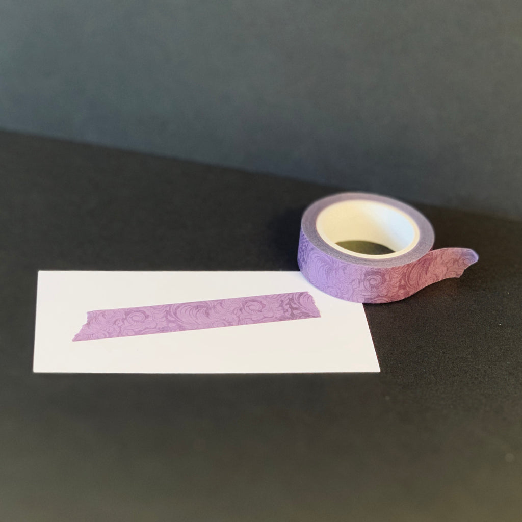 "The Queen's Very Own Washi Tape | ""Lavender Baroque"""