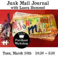 Workshop | Junk Mail Journal with Laura Hummel