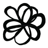 Kae Pea | KP7604M - Imperfect Wildflower - Rubber Art Stamp
