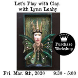 Workshop | PaperClay Sculpting Workshop w/Lynn Leahy