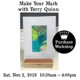 Workshop |  Make Your Mark with Terry Quinn