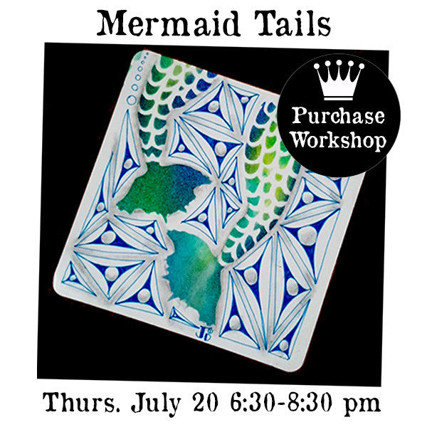 Workshop | Mermaid Tails with Jessica Davies