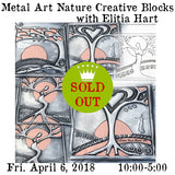 Workshop | Metal Art Nature Creative Blocks with Elitia Hart
