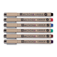 Micron Pen Set - 01 Color