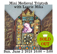 Workshop |  Mini Medieval Triptych with Laurie Mika