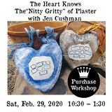 "Workshop | The Heart Knows - The""Nitty Gritty""  of Plaster with Jen Cushman"