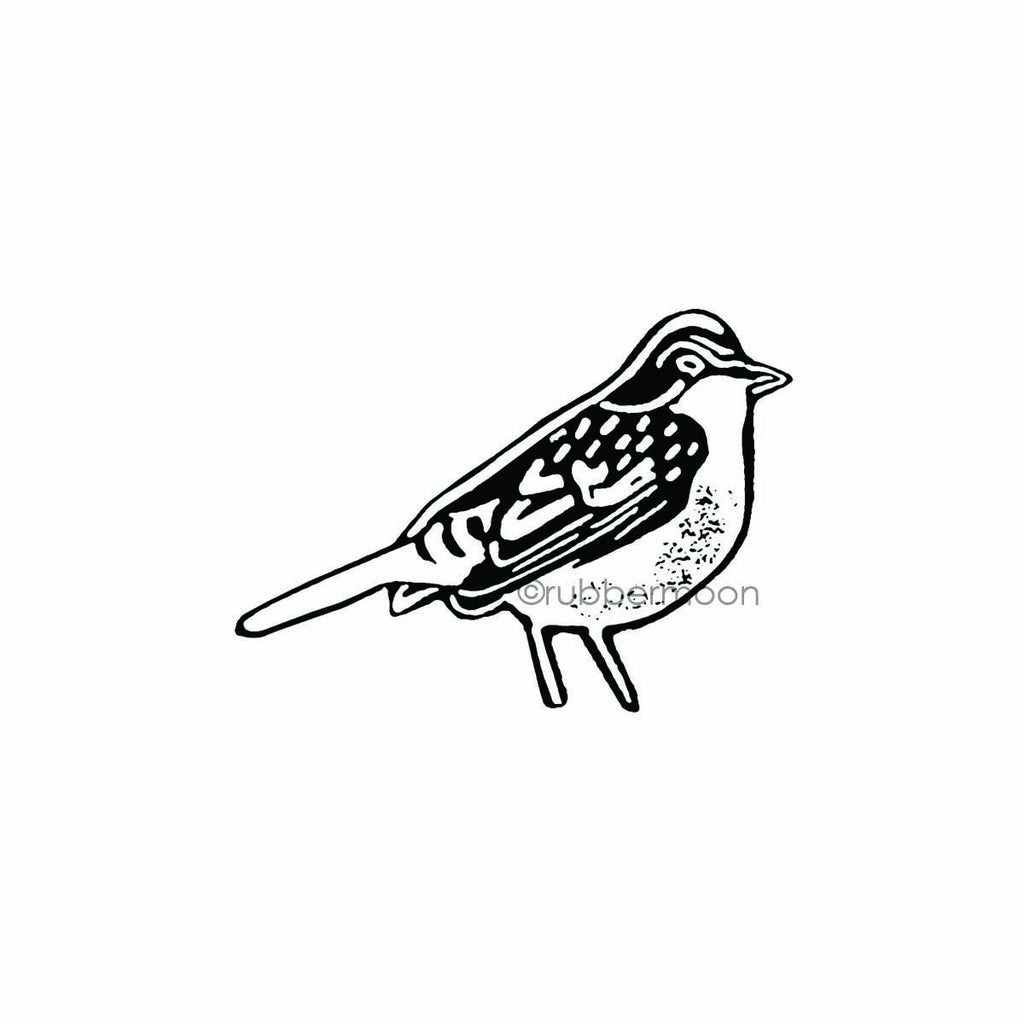 Nathalie Kalbach | NK7768F - Early Bird - Rubber Art Stamp