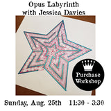 Workshop |  Labyrinth Opus with Jessica Davies