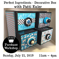 Workshop | The Perfect Ingredients - Decorative Box with Patti Euler