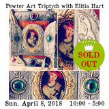 Workshop | Pewter Art Triptych with Elitia Hart