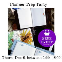 Workshop | Planner Prep Party