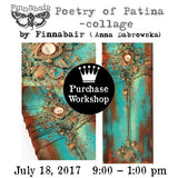 Workshop | Poetry of Patina with Finnabair (Anna Dabrowska)