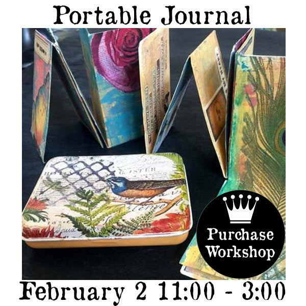 Workshop | Every Which Way Portable Journal