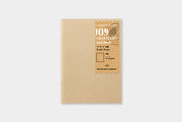 Traveler's - Kraft Paper Notebook - Passport Size #009