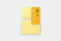 Traveler's - Sticky Notes - Passport Size #012