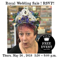 Workshop | The Royal Wedding Sale | Hosted by Patti Euler